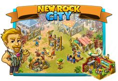 New Rock City: Work Day Horn Of Plenty, Paradise City, Prehistoric, Club, Rock, Ss, Stone, Prehistory, Rock Music