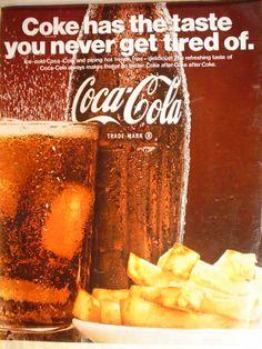 Coca Cola (Coke) ad, 1967