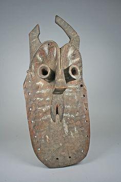 Mask (Algum) Date: 19th–20th century Geography: Nigeria, Benue River Valley region Culture: Yukuben peoples Medium: Wood, pigment Dimensions...