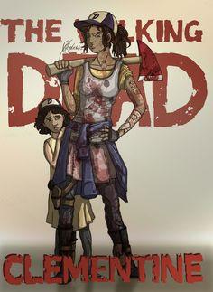 Walking Dead Game Arts.