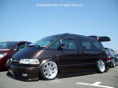 Toyota Van, Toyota Previa, Vanz, Custom Cars, Parents, Vehicles, Style, Dads, Swag