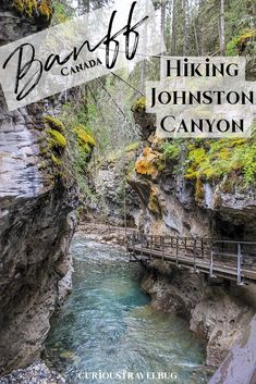 Banff's Best Easy Hike: Johnston Canyon - Curious Travel Bug Johnston Canyon is one of those places in Banff that feels unreal. The canyon boardwalk has beautiful scenery. It's an easy day trip from Calgary or a nice addition to your Banff travel plans. Cool Places To Visit, Places To Travel, Places To Go, Travel Destinations, Banff National Park, National Parks, Jasper National Park, Quebec, Pvt Canada