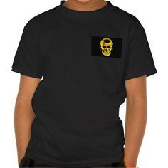 Golden Skull T Shirt #Skull #Halloween #Tshirt #Tee