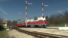 Узкоколейный тепловоз Мк45-2006 в Будапешт, Венгрия, 31.03.2016 nrrow gauge locomotive Mk45-2006 in Budapest, Hungary, 31.03.2016
