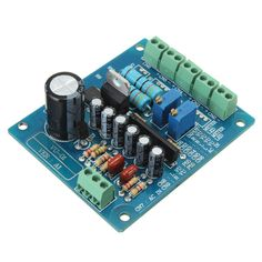 AC 12V Stereo VU Meter Driver Board Amplifier DB Audio Level Input Backlit New