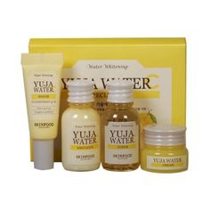 [SKINFOOD_Sample] Yuja Water C 4 Kit Sample - 1pack (4ea)