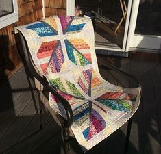 Leaf Feather Quilt