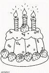 verjaardag: taart