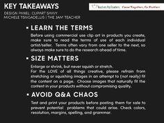 TpT Vegas 2015: Design Panel Notes {FREE}