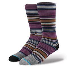 Stance | Owes Purple | Men's Socks | Official Stance.com