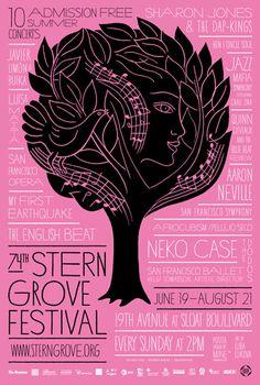 mine stern grove festival poster