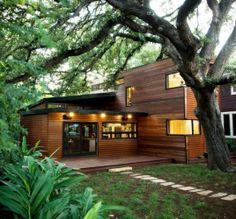 Modern Wooden House Exterior Ideas