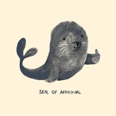Seal of approval!