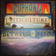 Which Stonemaier Games is your favorite? #tabletopgames #BoardGames #shallweplaylv #friendlylocalgamestore #euphoria #viticulture #betweentwocities