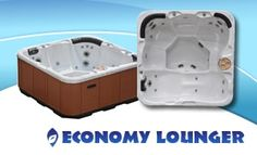 Economy Lounger 4 Person Hot Tub