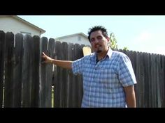Home Repair & Maintenance Tips : Repairing Wooden Fences - YouTube