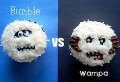 Snow Monster Cupcake by Sugar Swings! Serve Some