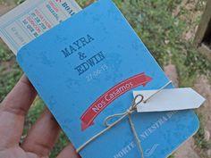 invitaciones boda pasaporte
