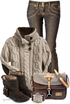 """""""Cozy Chocolate"""" by cynthia335 on Polyvore"""