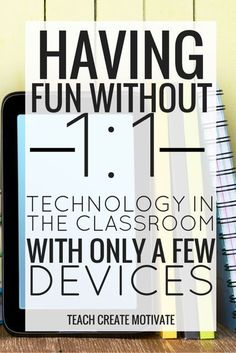Don't have a 1:1 classroom? No worries! Here are some fun and free ways you can integrate technology into students' learning with only a few devices!