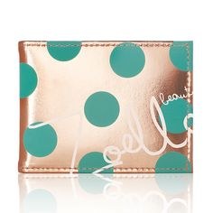 "GOTTA HAVE!!""my two favirite colors! My favorite print-PolKk a dots! And its onky out for xmas then gone forever! So i gottta buy these designs before they go back to her normal colors which are cute but not as perfect as these are!**Zoella Beauty Fairest of them all Travel Pass and Compact Mirror"