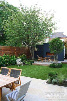 Modern Garden Design, Backyard Garden Design, Backyard Patio, Balcony Garden, Garden Landscaping, Modern Landscaping, Garden Beds, Landscaping Ideas, Backyard Ideas