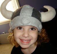 Viking fleece hat