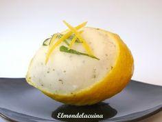 El món de la cuina: Sorbet de llimona i menta Setmana 13. Primavera. Abril. Postres