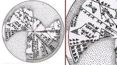 El disco sumerio clasificado como K8538 es una prueba más del avanzado conocimiento astronómico de los sumerios.