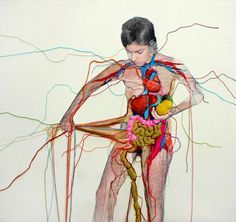 embroidery art mixed media - Google Search