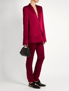 Click here to buy Haider Ackermann Kuiper shawl-lapel satin jacket at MATCHESFASHION.COM