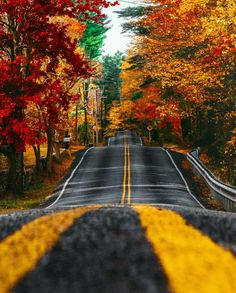Superb Landscape & Nature Photography — North Scituate, Rhode Island - by Kiel James. Beautiful Roads, Beautiful Places, Beautiful Pictures, Wonderful Places, Fall Inspiration, Meditation France, Yoga Lyon, Autumn Aesthetic, Destination Voyage