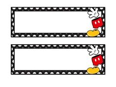 Organize your classroom jobs with these Disney Mickey Mouse  themed classroom labels. Includes 8 blank labels  (2 long labels and 6 round mickey shaped labels) for you to print and write on. Please let me know if you would like a different theme, color, or character!