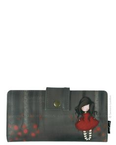 Wallet, Poppy Wood - Santoro's Gorjuss I will own this someday if it's the last thing I do. Santoro London, 3d Cards, Poppies, Stationery, Handbags, Purses, My Love, Gifts, Diy Bags