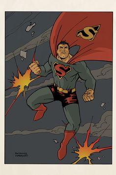 Superman 1947 | Anthony Marques