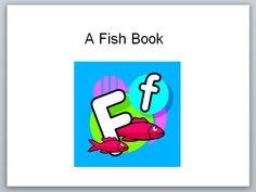 A Fish Book - Pinned by @PediaStaff – Please Visit  ht.ly/63sNt for all our pediatric therapy pins
