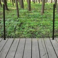 Euro Steel Fence Panel 4 H X 6 W From Menards 24 99 Do