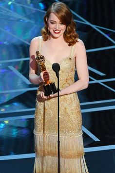 Here's Where Andrew Garfield Was Sitting During Emma Stone's Acceptance Speech