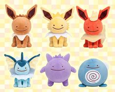 """Crunchyroll - These Ditto """"Pokemon"""" Plushies Are Even Cuter Than The Real Pokemon"""