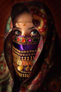 Bedouin Woman, Sinai, Egypt