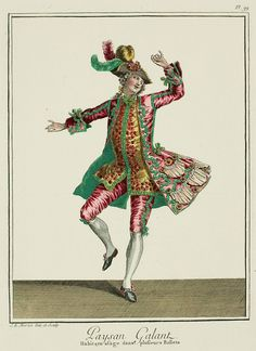 paysan gallant 1770