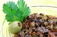 Olive and Mushroom Tapenade Recipe (2Pts) - This site also has TONS of WeightWatchers Friendly Recipes :)