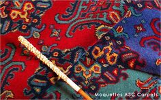 Moquettes A3C Carpets - Collection Smyrne Turkey - Tissage axminster 80% laine 20% nylon - 3 coloris 3,66m de large
