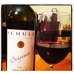 Schulz Benjamin Shiraz 2006 Barossa Valley Australia - a variation of the wine served at Le Picotin in Fifty Shades Darker page 19