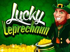 This Leprechaun is #lucky. Play Lucky Leprechaun #slots at Vegas Paradise with a sign up bonus of £5 and win big #money