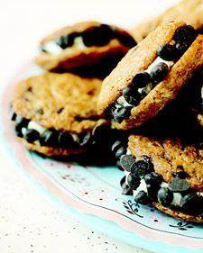 This chocolate chip cookie sandwich recipe has been adapted from one Erin McKenna uses at her vegan sweetshop Babycakes NYC.