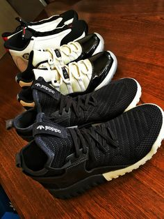 Black and white  #tubular#tubularx#adidas#adidasoriginals#wdywt#kicksonfire#kicks#nike#nicekicks#solecollector#airjordan14#blacktoe#airjordan11#airjordan