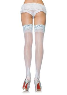 Stay Up Backseam Thigh Highs With Corset Lace Top And Cuban Heel (White/Light Blue;One Size) Leg Avenue,http://www.amazon.com/dp/B003S2F0CA/ref=cm_sw_r_pi_dp_6g-9rb1PZK6PXW1C