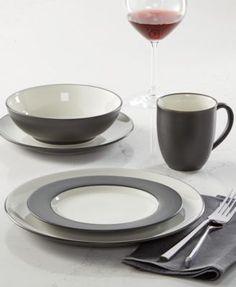 Noritake Colorwave Dinnerware Place Settings | macys.com & Alessi Mami Dinnerware Collection by Stefano Giovannoni | stanovanje ...