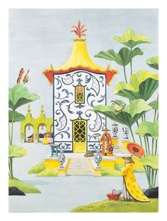 Chinoiserie: The Blue and White Pavilion - Harrison Howard